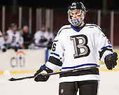 Brett Gensler (Bentley - 26) - The Bentley University Falcons defeated the College of the Holy Cross Crusaders 3-2 on Saturday, December 28, 2013, at Fenway Park in Boston, Massachusetts.