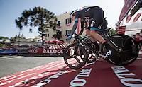 Bradley Wiggins (GBR) commandeering Team SKY to victory