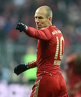 FUSSBALL   1. BUNDESLIGA  SAISON 2012/2013   9. Spieltag FC Bayern Muenchen - Bayer 04 Leverkusen    28.10.2012 Arjen Robben (FC Bayern Muenchen)