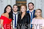 Cliondhna Foley, Jason Foley, Maeve Poff, Paudie Kelliher and Zoe O'Shea at the Beaufort GAA social in the Killarney Avenue Hotel on Friday night