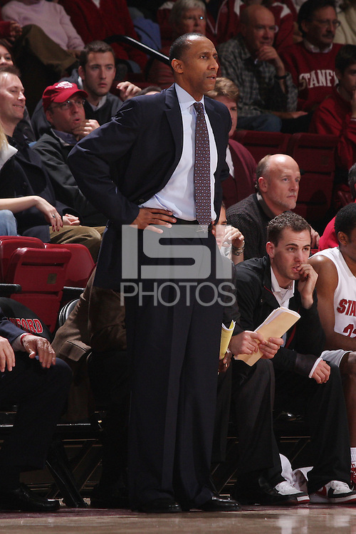 STANFORD, CA - DECEMBER 17:  Johnny Dawkins of the Stanford Cardinal during Stanford's 66-57 win over Northern Arizona on December 17, 2008 at Maples Pavilion in Stanford, California.