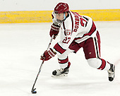 Viktor Dombrovskiy (Harvard - 27) - The Harvard University Crimson defeated the Providence College Friars 3-0 in their NCAA East regional semi-final on Friday, March 24, 2017, at Dunkin' Donuts Center in Providence, Rhode Island.