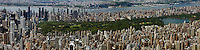 aerial photograph Upper East side, Central Park, Upper West Side, Manhattan, New York City