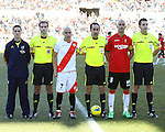 Football. Liga BBVA. Rayo Vallecano vs Mallorca. 22/01/2012