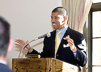 November Wells Fargo event at the Sutter Club 2008 with Kevin Johnson, Mayor Elect. Photos by Bill Mahon Photo.