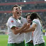 Fussball Bundesliga 2010/11: Eintracht Frankfurt - SV Werder Bremen