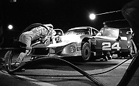 #24 Porsche Marion Speer, Ken Madrean and Ray Ratclif makes a pit stop during the 1983 24 Hours of Daytona , Daytona Internationa Speedway, Daytona Beach, FL, February 1-2, 1983.  (Photo by Brian Cleary / www.bcpix.com)