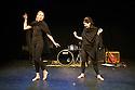 Edinburgh, UK. 01.08.2014.  XANADU Productions perform an extract from ET TU ELVIE? in the C Venues press launch,as part of Edinburgh Festival Fringe. Photograph © Jane Hobson.