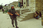 Irish UN United Nations troops southern Lebanon 1980s.  They were part of United Nations Interim Force in Lebanon, or UNIFIL.