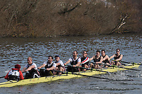 008 IM1.8+ Thames RC ..Reading University Boat Club Head of the River 2012. Eights only. 4.6Km downstream on the Thames form Dreadnaught Reach and Pipers Island, Reading. Saturday 25 February 2012.
