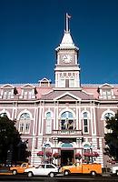 Victoria: City Hall, 1878; Clock Tower, 1891.  Photo '88.