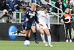05 December 2010: Notre Dame's Lauren Fowlkes (9) and Stanford's Alina Garciamendez. The Notre Dame University Fighting Irish defeated the Stanford University Cardinal 1-0 at WakeMed Stadium in Cary, North Carolina in the 2010 NCAA Women's College Cup Championship Game.