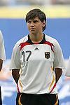 09 August 2008: Ariane Hingst (GER).  The women's Olympic soccer team of Germany defeated the women's Olympic soccer team of Nigeria 1-0 at Shenyang Olympic Sports Center Wulihe Stadium in Shenyang, China in a Group F round-robin match in the Women's Olympic Football competition.