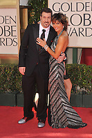Lisa Rinna & Joey Fatone at the 66th Annual Golden Globe Awards at the Beverly Hilton Hotel..January 11, 2009 Beverly Hills, CA.Picture: Paul Smith / Featureflash