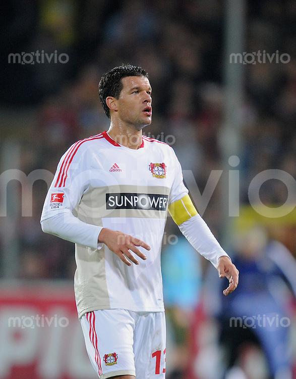 FUSSBALL   1. BUNDESLIGA  SAISON 2011/2012   11. Spieltag   28.10.2011 SC Freiburg - Bayer Leverkusen Michael Ballack (Bayer 04 Leverkusen)
