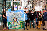 Solidarity Rally With Standing Rock Chicago 11-15-16