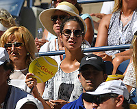 FLUSHING NY- AUGUST 29: Xisca Perello is sighted watching Rafael Nadal Vs Dennis Istomin on Arthur Ashe Stadium at the USTA Billie Jean King National Tennis Center on August 29, 2016 in Flushing Queens. Photo byMPI04 / MediaPunch