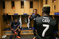 San Jose, CA - Saturday April 08, 2017: Chris Wondolowski  after a Major League Soccer (MLS) match between the San Jose Earthquakes and the Seattle Sounders FC at Avaya Stadium.