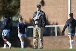 20 November 2016: UNC head coach Anson Dorrance. The University of North Carolina Tar Heels played the Clemson University Tigers at Fetzer Field in Chapel Hill, North Carolina in a 2016 NCAA Division I Women's Soccer Tournament Third Round match. UNC won the game 1-0.