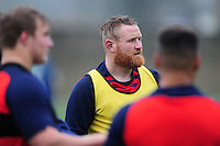 Ross Batty of Bath Rugby looks on. Bath Rugby training session on November 22, 2016 at Farleigh House in Bath, England. Photo by: Patrick Khachfe / Onside Images