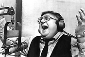 Radio talk-show host Bob Kwesell, 1986, photo by Jenny Labalme