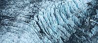 Crevasses on Franz Josef Glacier, Westland Tai Poutini National Park, West Coast, South Westland, World Heritage Area, New Zealand