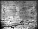 Frederick Stone negative. Lighthouse 1892.