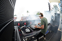MIAMI BEACH , FL - AUGUST 13: Alesso performs during the I Heart Radio Y-100 Mackapoolooza Pool Party at The Fountainbleu on August 13, 2016 in Miami Beach, Florida. Credit: mpi04/MediaPunch