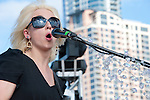 Ritzy Bryan of The Joy Formidable at Fun Fun Fun Fest, Austin Texas, November 5, 2011.