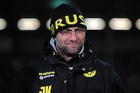 FUSSBALL   DFB POKAL   SAISON 2011/2012   VIERTELFINALE Holstein Kiel - Borussia Dortmund                          07.02.2012 Jürgen KLOPP  (Borussia Dortmund)