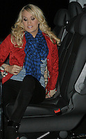 Carrie Underwood arrives at BBC Radio 2 London