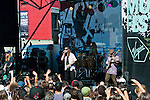 The Dirty Heads performing at the Sunset Strip Music Festival in Los Angeles, California, August 20, 2011. The Dirty Heads are a Reggae rock band from Southern California with a melodic style that includes hip hop and punk genres.