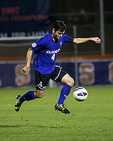 The number 24 ranked Furman Paladins took on the number 20 ranked Clemson Tigers in an inter-conference game at Clemson's Riggs Field.  Furman defeated Clemson 2-1.  Dylan Rowe (4)