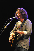 Chris Cornell (Jul 20, 1964 - May 17, 2017) -  performing live at The Chicago Theatre in Chicago, Illinois USA - October 6, 2015.  Photo credit: Gene Ambo/IconicPix