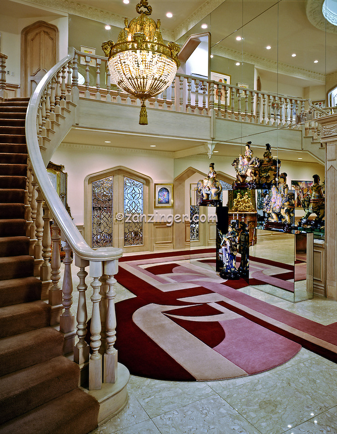 Grand Stairway Entrance Foyer, Chandelier, Residential, Interior, Design, lifestyle, .jpg
