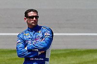 19 June, 2011: Andy Lally prior to qualifying for the 43rd Annual Heluva Good! Sour Cream Dips 400 at Michigan International Speedway in Brooklyn, Michigan. (Photo by Jeff Speer :: SpeerPhoto.com)