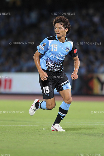 Yuki Saneto (Frontale), JULY 16th, 2011 - Football : 2011 J.League Division 1 match between between Kawasaki Frontale 3-2 Kashiwa Reysol at Todoroki Stadium in Kanagawa, Japan. (Photo by Kenzaburo Matsuoka/AFLO).