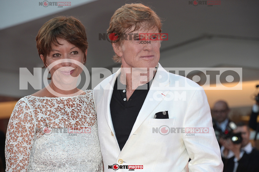 VENICE, ITALY - SEPTEMBER 06: Robert Redford and Sibylle Szaggars at the 'The Company You Keep' Premiere during the 69th Venice Film Festival at the Palazzo del Casino on September 6, 2012 in Venice, Italy. &copy;&nbsp;Maria Laura Antonelli/AGF/MediaPunch Inc. ***NO ITALY*** /NortePhoto.com<br /> <br /> **CREDITO*OBLIGATORIO** *No*Venta*A*Terceros*<br /> *No*Sale*So*third* ***No*Se*Permite*Hacer...<br /> more &raquo;