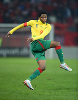 FUSSBALL   INTERNATIONAL   Testspiel    Albanien - Kamerun       14.11.2012 Samuel Eto o (Kamerun)