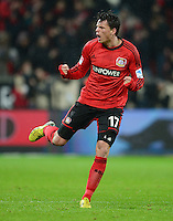 FUSSBALL   1. BUNDESLIGA   SAISON 2012/2013    20. SPIELTAG Bayer 04 Leverkusen - Borussia Dortmund                  03.02.2013 Sebastian Boenisch (Bayer 04 Leverkusen)