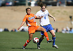 Florida's Ansley Harris (26) and Duke's Kelly Hathorn (6) on Saturday, March 3rd, 2007 on Field 1 at SAS Soccer Park in Cary, North Carolina. The University of Florida Gators played the Duke University Blue Devils in an NCAA Division I Women's Soccer spring game.