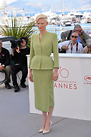 Tilda Swinton at the photocall for &quot;Okja&quot; at the 70th Festival de Cannes, Cannes, France. 19 May 2017<br /> Picture: Paul Smith/Featureflash/SilverHub 0208 004 5359 sales@silverhubmedia.com