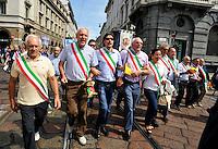 Manifestazione sindaci