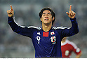 Shinji Okazaki (JPN), OCTOBER 11, 2011 - Football / Soccer : Shinji Okazaki of Japan celebrates after scoring his team's eighth goal during the 2014 FIFA World Cup Asian Qualifiers Third round Group C match between Japan 8-0 Tajikistan at Nagai Stadium in Osaka, Japan. (Photo by Takamoto Tokuhara/AFLO)