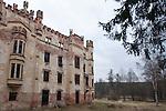 Malá Hluboká, a castle ruin in the southern Bohemia village of Český Rudolec, Czech Republic, Europe