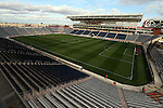 20 October 2012: A wide view of Toyota Park from the northeast corner. The United States Women's National Team played the Germany Women's National Team at Toyota Park in Bridgeview, Illinois in a women's international friendly soccer match. The game ended in a 1-1 tie.