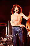 AC/DC Bon Scott 1978..&copy; Chris Walter..