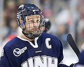 Mike Sislo (UNH - 19) - The University of New Hampshire Wildcats defeated the Miami University RedHawks 3-1 (EN) in their NCAA Northeast Regional Semi-Final on Saturday, March 26, 2011, at Verizon Wireless Arena in Manchester, New Hampshire.