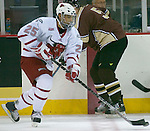 10/10/06 University of Nebraska at Omaha Bryan MArshall vs Mantitoba during an exhibition game..(Chris Machian/Prairie Pixel Group)..