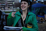 Nicole is a member of Occupy London, a camp that was taken down by the police in early November. She is visiting and offers support and shares information about Occupy London and life without tents. This is  characteristic of the Occupy Movement. Occupy Windsor, Canada, November 2011.